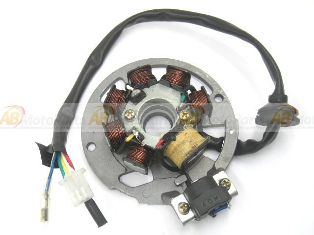 lichtmaschine stator 7 spulen 80mm f r roller motoren. Black Bedroom Furniture Sets. Home Design Ideas