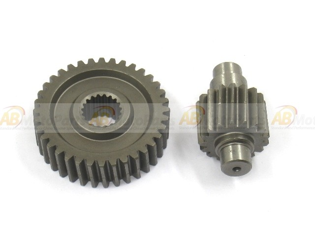 Drive gears kit  17/41t  for GY6 125/150cc , ABmotoparts com